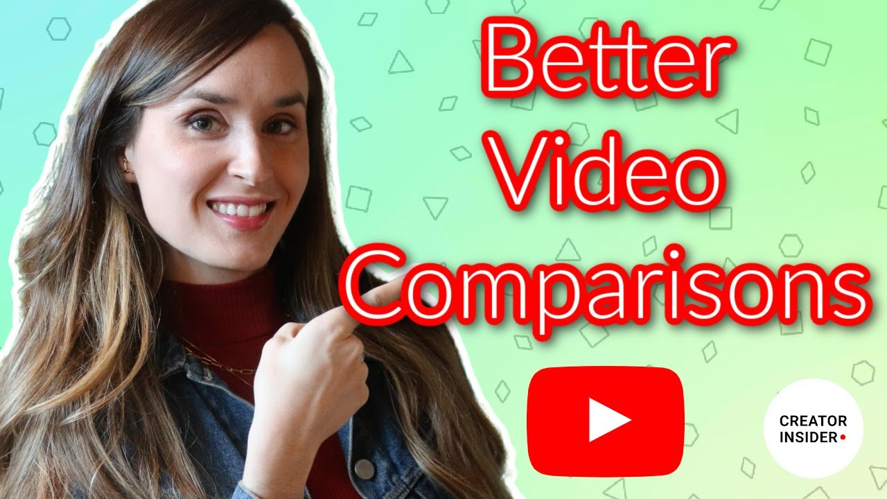 Better Video Comparison Features in YouTube Analytics!