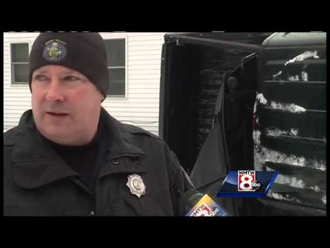 Ice causes slick conditions in western Maine