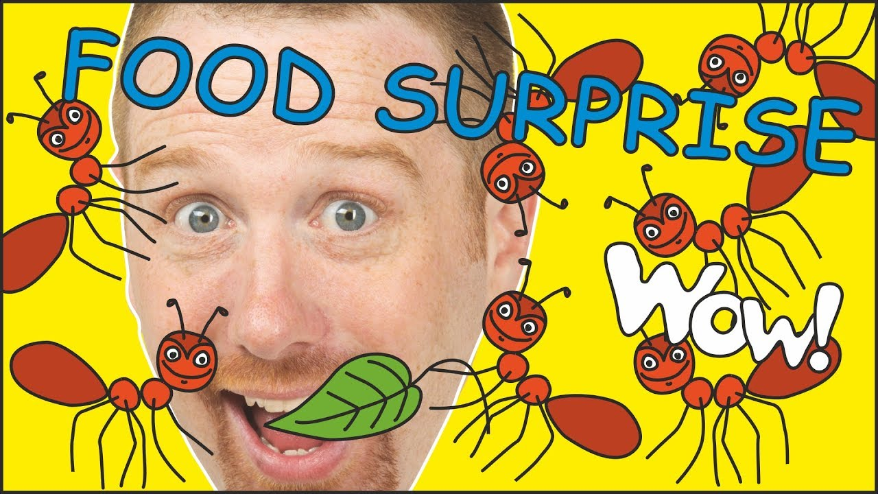 Download Magic Yummy Food Surprise Stories for Kids from Steve and Maggie | Learn Wow English TV