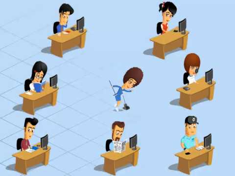 Office Workers animation 2