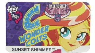 Equestria Girls Friendship Games New School Spirit Dolls and MotoCross Bike