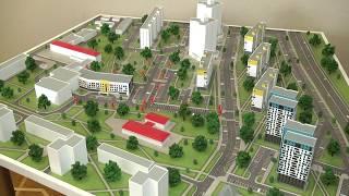2020-06-04 г. Брест. Завершение 1-го этапа строительства детской больницы. Новости на Буг-ТВ. #бугтв
