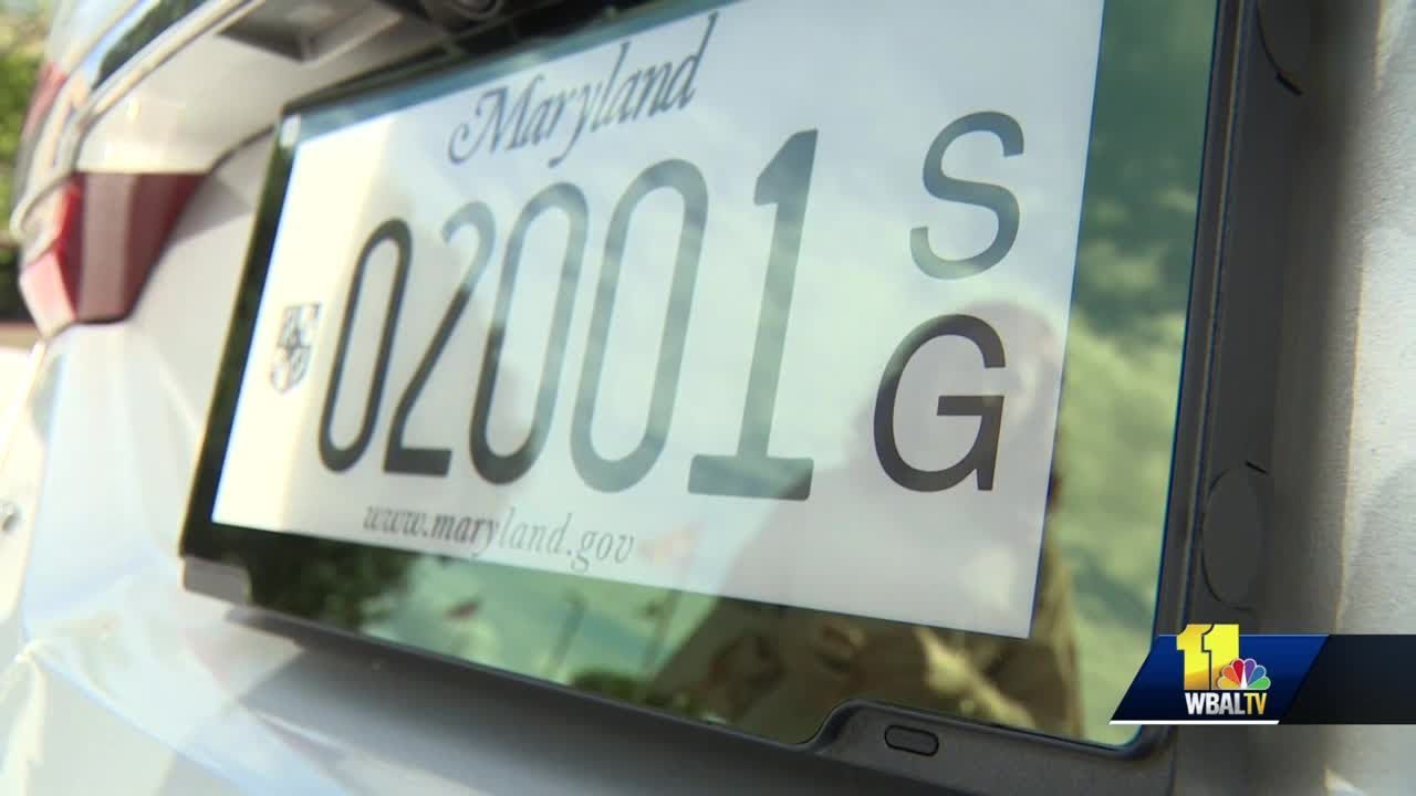 Digital license plates being tested in Maryland