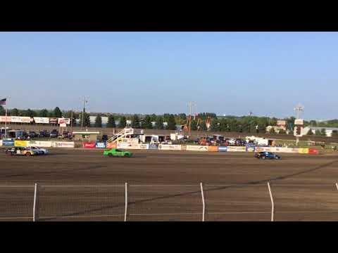 Sport compact Heat 2 8/24/18. Dacotah Speedway