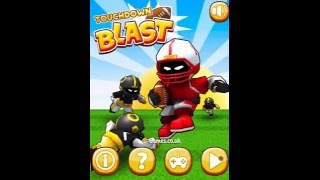 TOUCHDOWN BLAST Level 1-18 Walkthrough  | AMERICAN FOOTBALL GAMES FOR KIDS