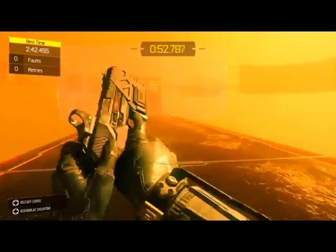 BO3  Sidewinder Freerun BEST TIME!! 15th in the WORLD gameplay
