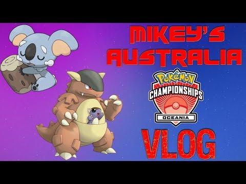 Pokemon Australia Oceania International Championship Vlog