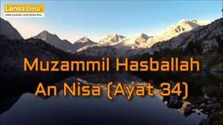 Muzammil Hasballah Surah An-Nisa Ayat 34
