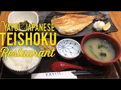 Yayoi Japanese Teishoku Restaurant SM Megamall Manila Philippines Hitsumabushi Shima Hokke