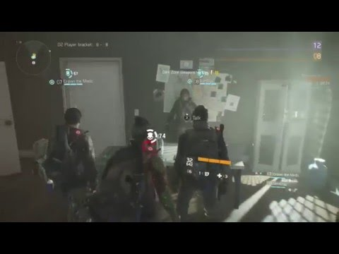 TC THE DIVISION  BETA - Rouge in the Safe Room Exploit!!!!
