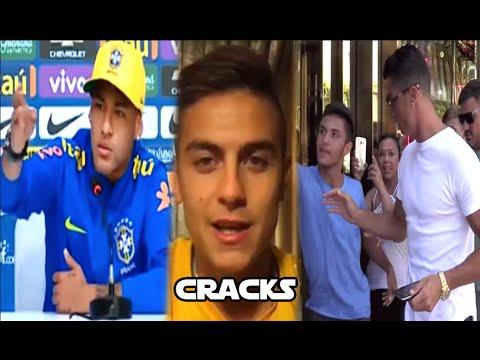 """Cristiano empuja a un fan   Advierte NEYMAR: """"Seguiré de FIESTA""""   Mensaje de DYBALA a Higuaín"""
