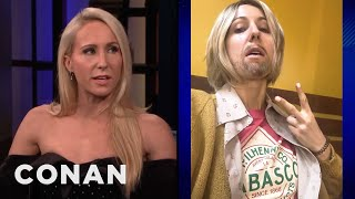 Nikki Glaser Thinks She's A Hot Dude - CONAN on TBS
