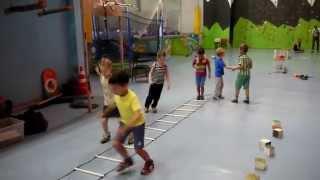 Детские упражнения Разминка