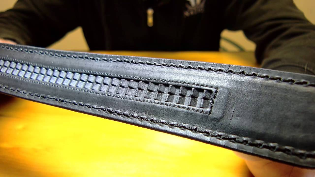 Ratchet Gun Belt Review   Concealed Carry Belt - YouTube