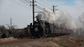 秩父鉄道 SL秩父錦号 2019/01/06