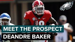 Breaking Down Deandre Baker's Instincts: Meet the Prospect | Philadelphia Eagles