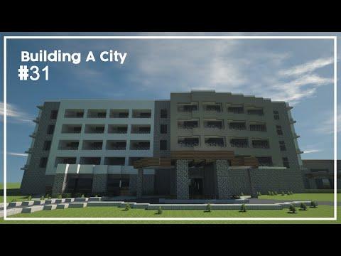Building A City #31 // Hotel // Minecraft Timelapse