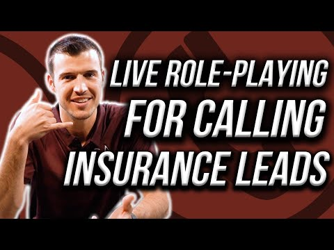 LIVE Role-Playing For Calling Insurance Leads! [Phone Phenom Ep. 22]