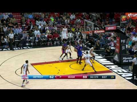 Detroit Pistons vs Miami Heat | January 1, 2017 | NBA 2016-17 Season