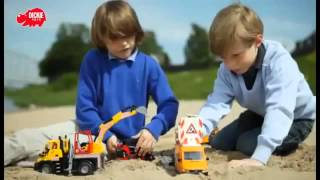 ▶ Dickie Toys - Construction Trucks Kids Mate