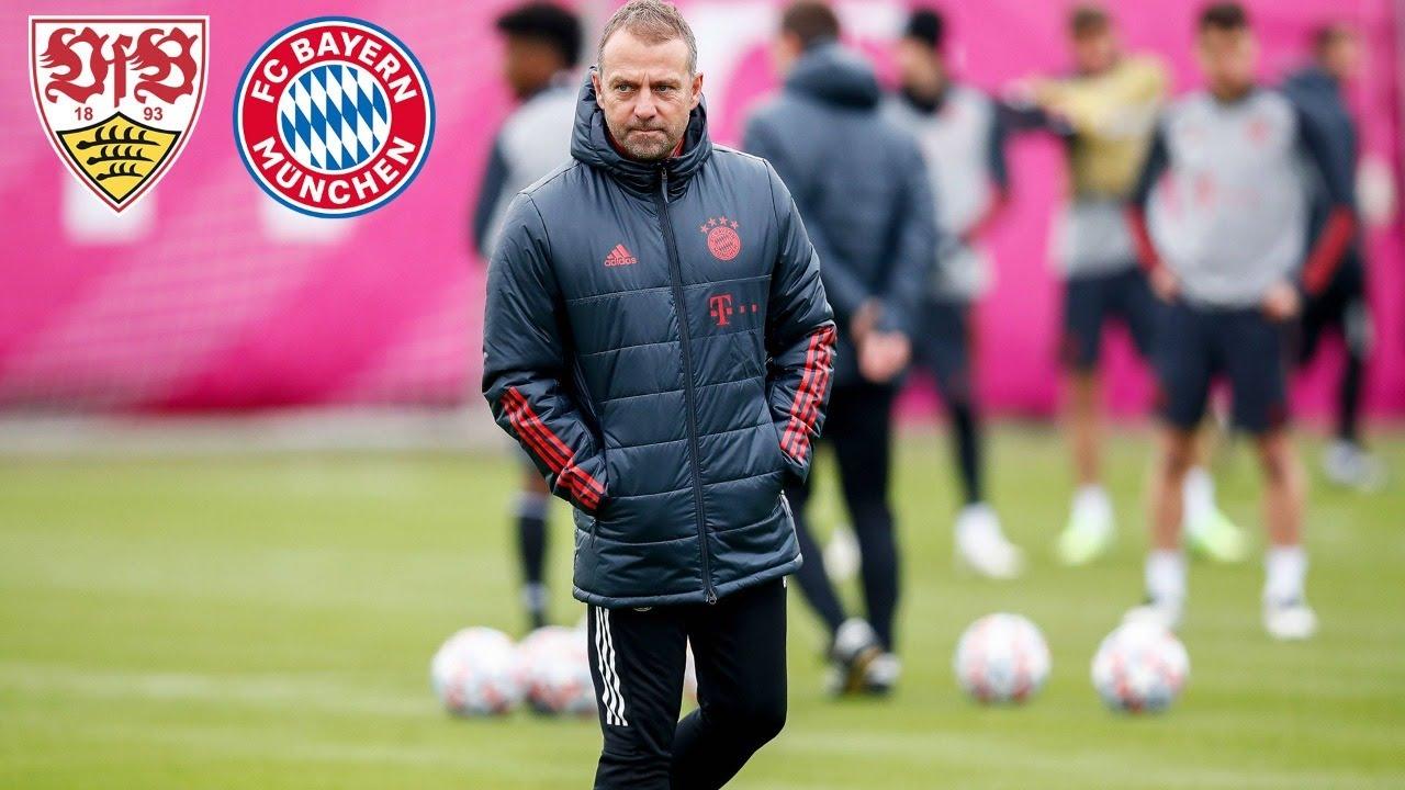 🎙️ Süle, Pavard, Tolisso - So ist der Stand | Pressetalk mit Hansi Flick | VfB Stuttgart - FC Bayern
