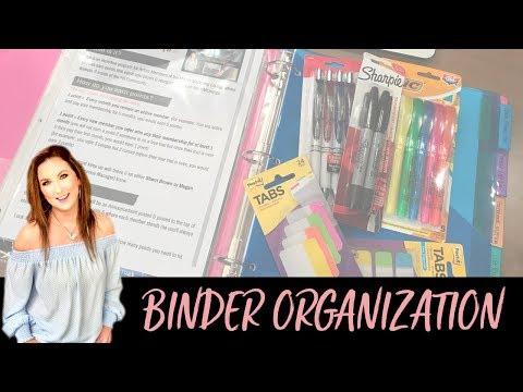 Binder Organization & Setup: How to Get Organized FAST!