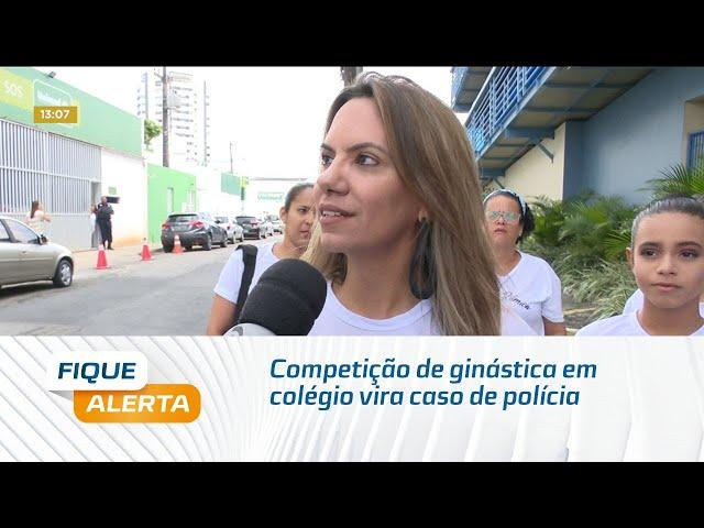 Competição de ginástica em colégio de Maceió vira caso de polícia