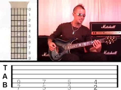 Guitar Lesson 8 - Rock Power Chords (www.vGuitarLessons.com)