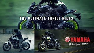 YAMAHA FZ SPORTBIKES: THE ULTIMATE THRILL RIDES