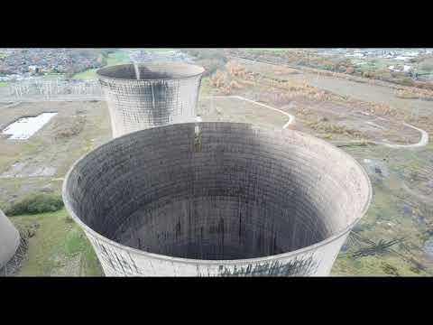 Willington Power Station in 4K