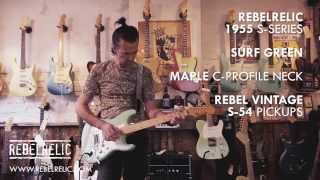1955 Surf Green S-Series | RebelRelic Guitar Showcase
