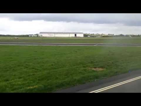 British Airways BA001 departing Shannon Airport 03/06/2015  (A318)