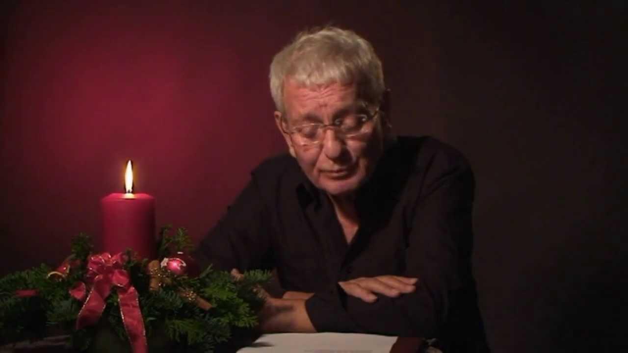 Weihnachtslieder Gesprochen - Wolfgang Kaus - STUGRAPHO/FILM - YouTube