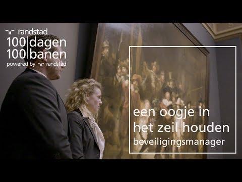 Een manager zijn van de beveiliging in het rijksmuseum - Dag 86