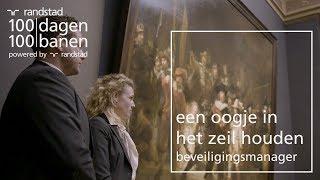 Beveiligingsmanager van het rijksmuseum bezoeken - Dag 86