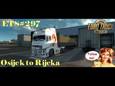 ETS#297 Transporting Empty Pallets from Osijek to Rijeka 446 KM