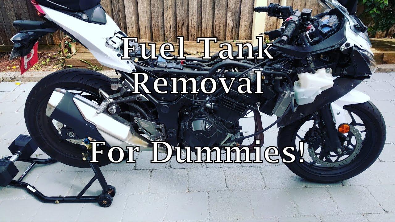 Ninja 300 Fuel Tank Removal Step By Step