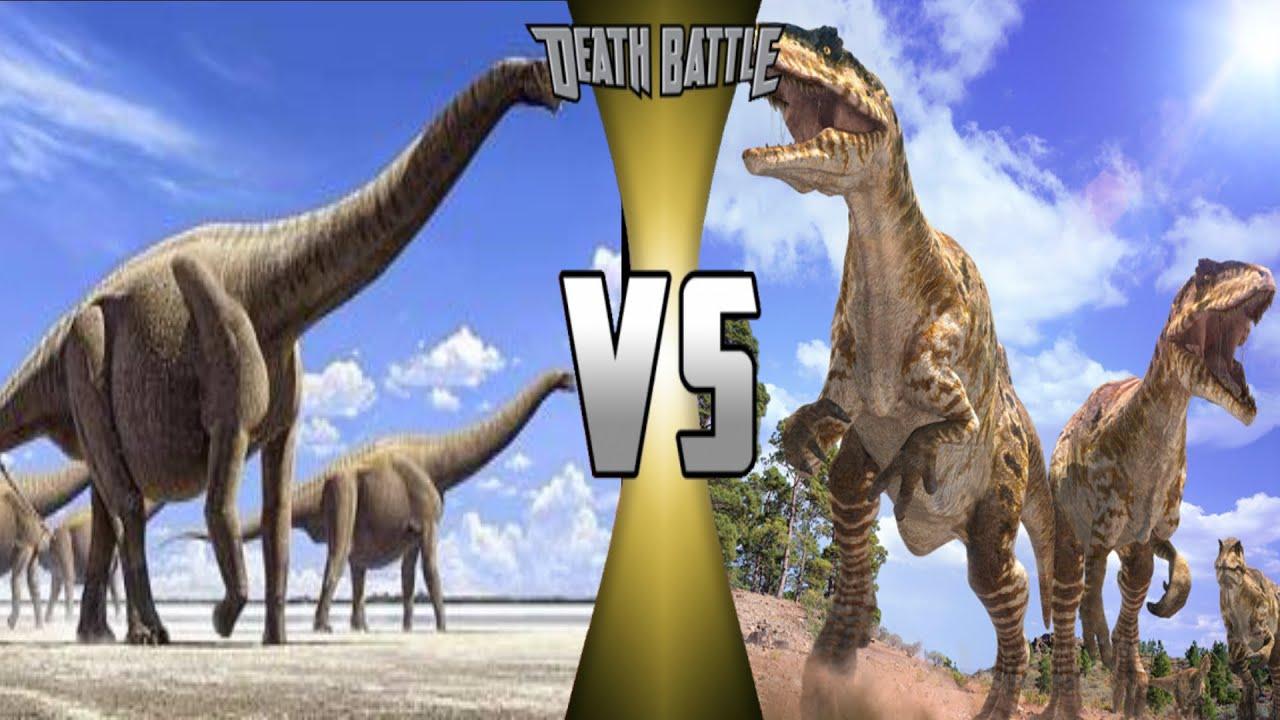 Argentinosaurus vs Giganotosaurus Pack: Who Would Win? (S2 ...Giganotosaurus Vs Spinosaurus Who Would Win