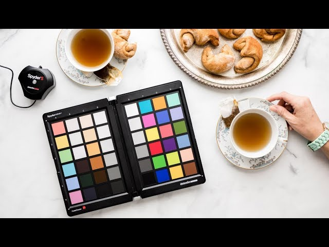 Color Correction and Monitor Calibration for Food Photography