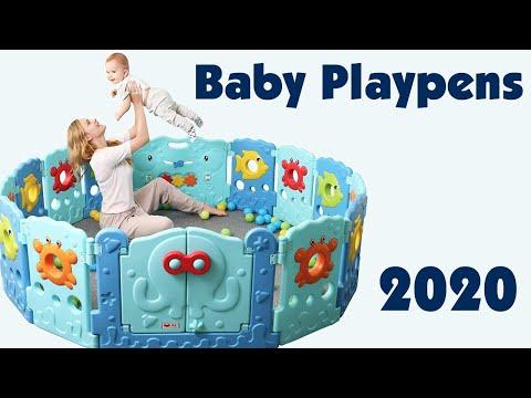 Foldable Baby Playpen 2020 | BABYSEATER Portable Playard Play Pen