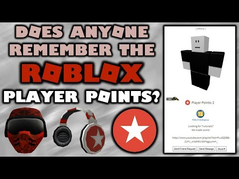Do You Remember Roblox Player Points Youtube