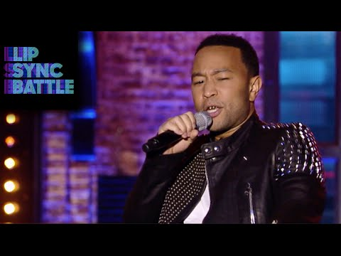 Common's I Want You Back vs John Legend's Slow Motion | Lip Sync Battle
