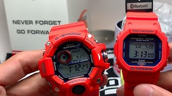 KOBE City G-Shock 9400 AND 5600 Comparison, Unboxing, and Review - JAPAN LIMITED