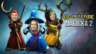 Let's Play MAGICKA 2! Co-Optitude with Ryon & Felicia Day!