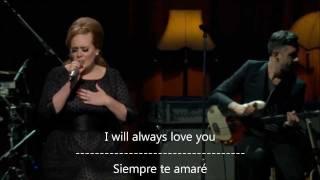 Lovesong-Adele subtitulos en espaol e ingleswmv