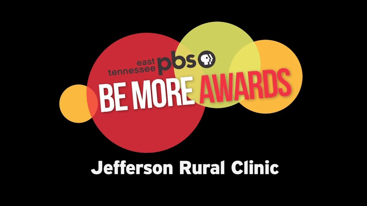 East Tennessee PBS Be More Award - Jefferson Rura