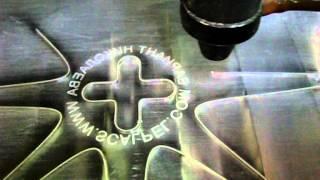 Лазерная резка и гравировка акрила(Лазерная резка и гравировка акрила на лазерном станке Rabbit HX-1290SC. Данный станок применяется в рекламно-произ..., 2014-02-26T13:19:38.000Z)