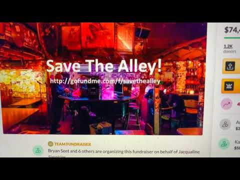 SAVE THE ALLEY OAKLAND FUNDRAISER REACHES $75,000 GOAL ONE WEEK AFTER GOFUNDME PAGE WAS MADE