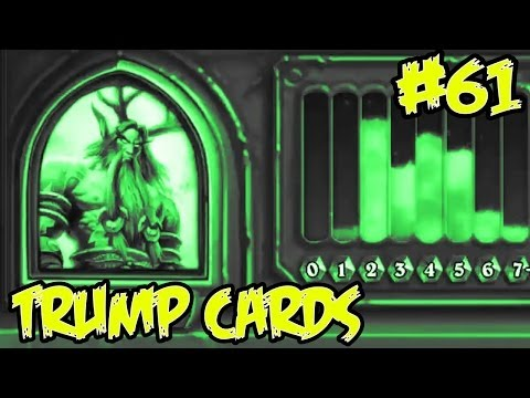 Hearthstone: Trump Cards 61 - Druid full arena peasant deck