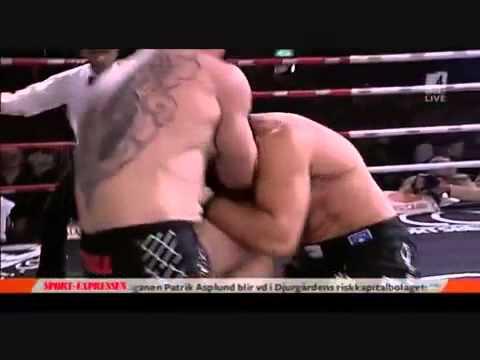 Albanian vs Serbian BOXING - KO Fight